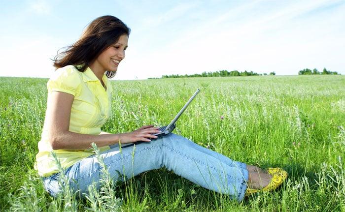 Det grønne digitale liv - genbrugt IT - opbevar i skyen.