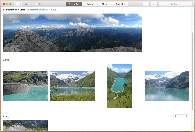 fotos på mac