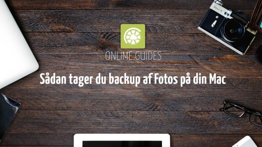 backup af fotos på mac