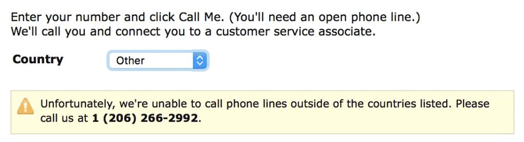 amazon drive kundeservice på engelsk