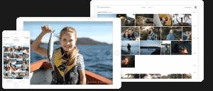 Dine billeder sikret og samlet ét sted med et backup program. Smartphone, tablet og computer.