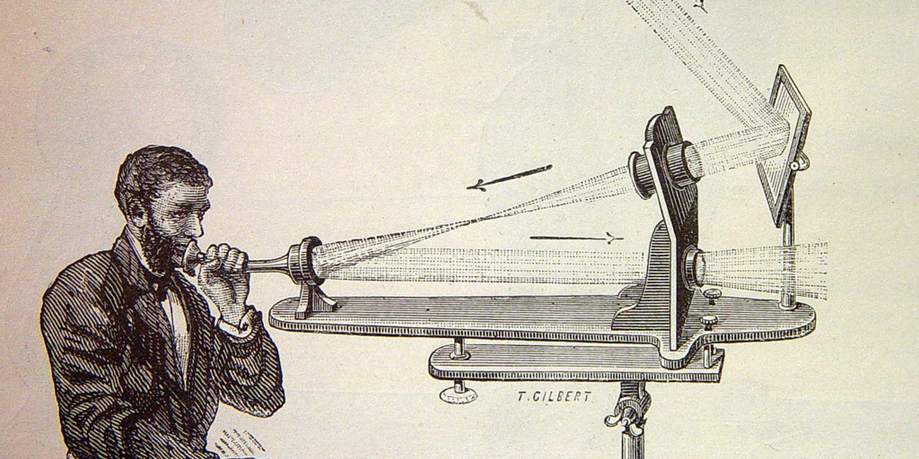 Alexander Graham Bell, Photophone